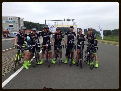 haberich cycling crew beim Schleizer Dreieck