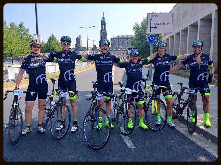 haberich cycling crew beim Skoda Velo Race in Dresden