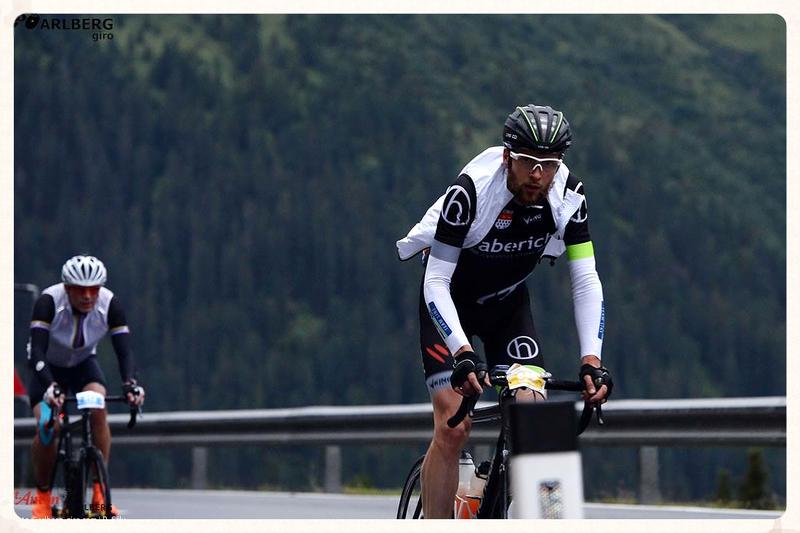 haberich cycling crew beim Arlberg Giro