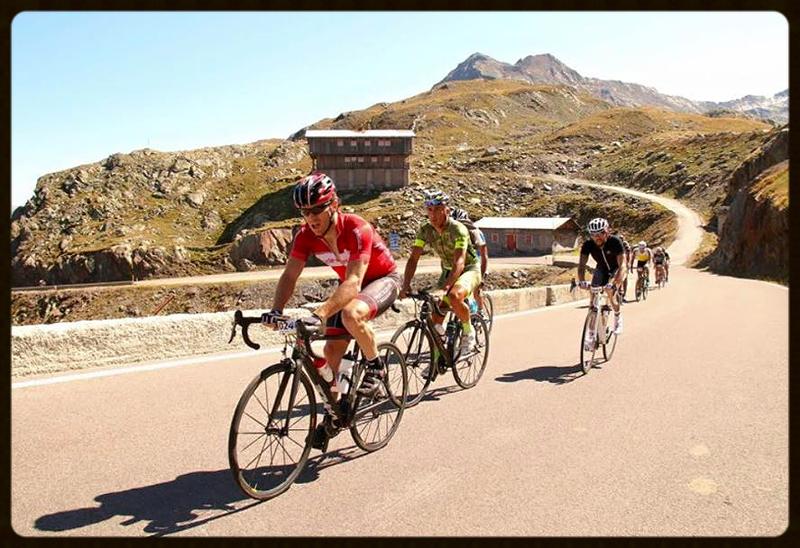 Tom Krämer von der haberich cycling crew im Auftrag von Team Cycle Basar - Ötztaler Radmarathon