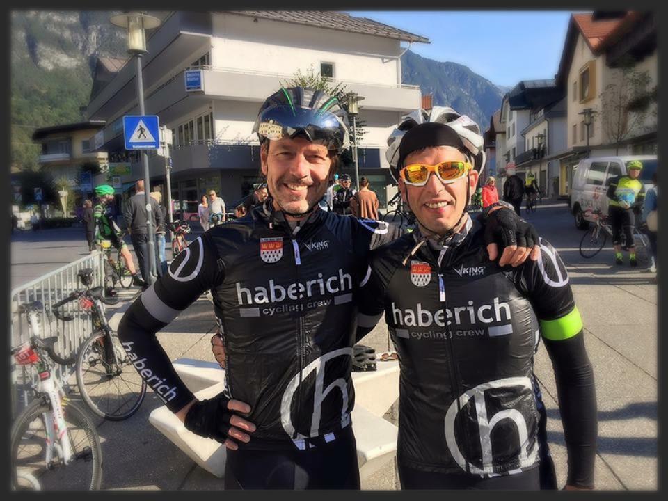 Endura Alpen-Traum Finisher: Gerd und Martin. Chapeau