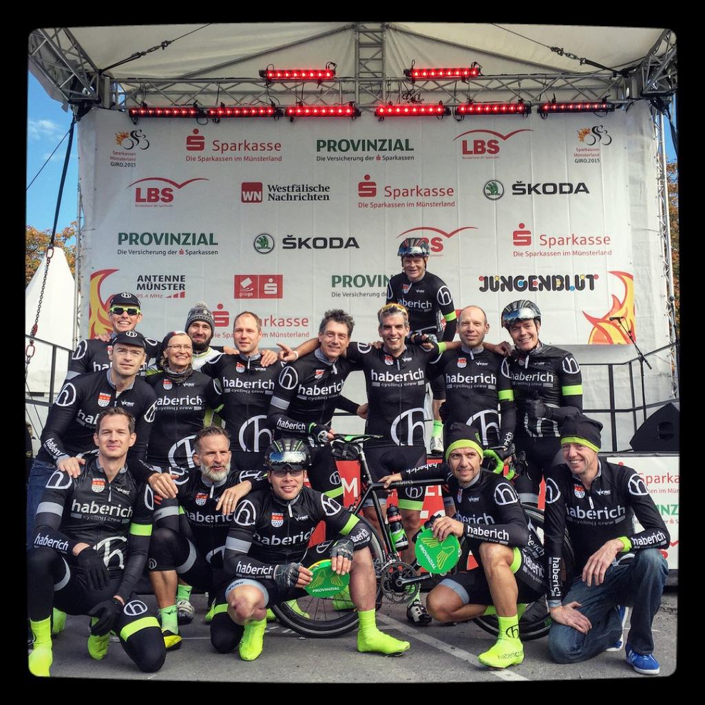 Das schönste Trikot, die beste Stimmung - hcc beim German Cycling Cup 2015