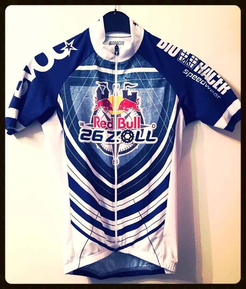 Finisher Trikot: Red Bull 26 Zoll MTB Rennen über mehr als 130km