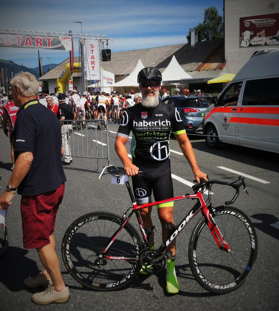 Jörg Haberich beim Radweltpokal in St- Johann