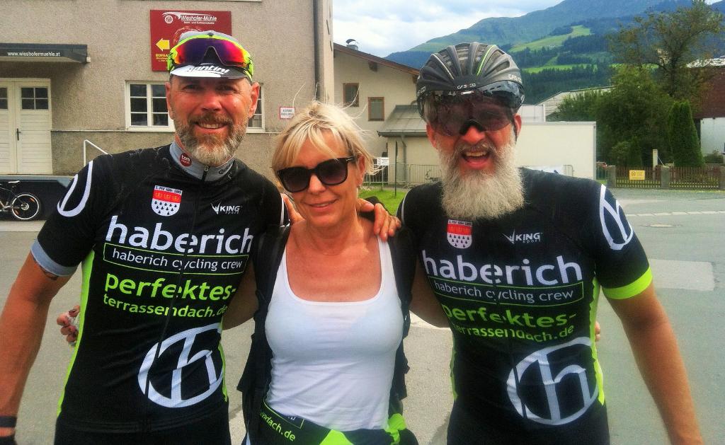 Nick Nagel und Jörg Haberich im hcc Outfit - Special Support Kerstin (ohne die nix geht)